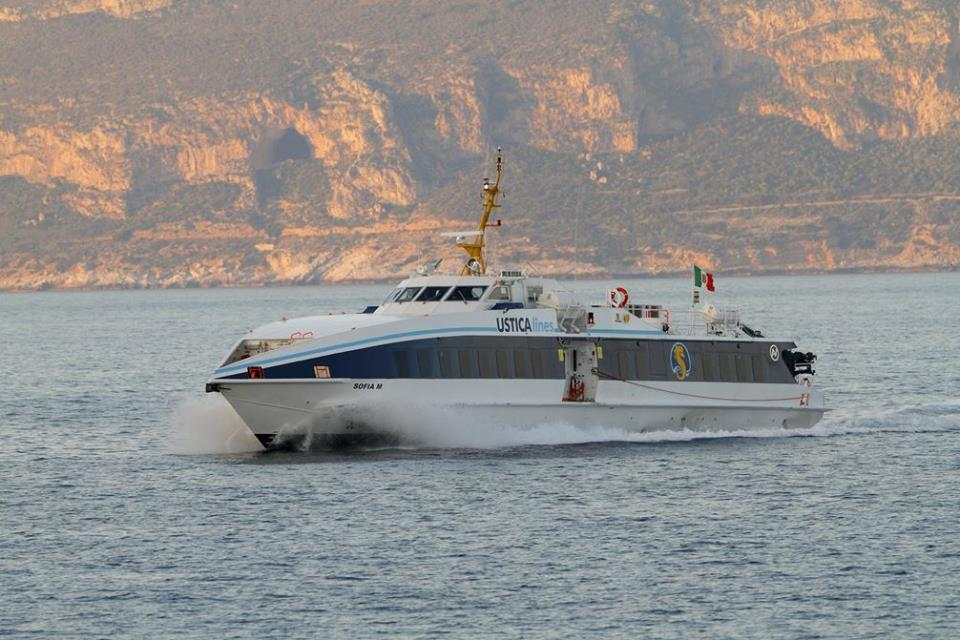 Ustica Lines: interruzione dei collegamenti marittimi giorno 7 maggio