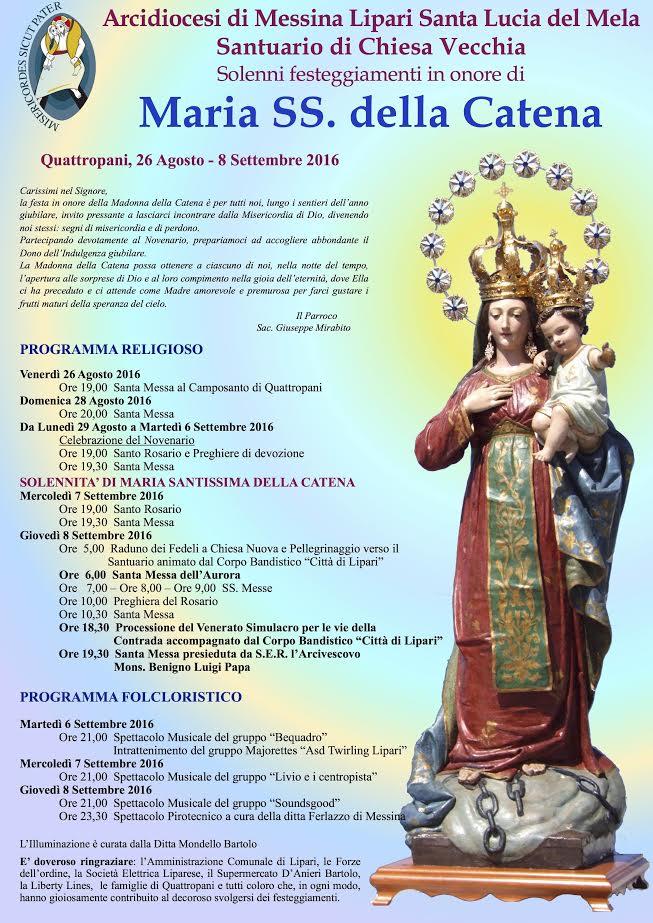Lipari: Maria Santissima della Catena