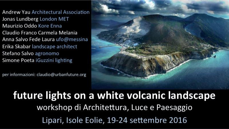 Future Lights on a volcanic landscape: l'intervista a Claudio Lucchesi	5° Parte e ultima parte