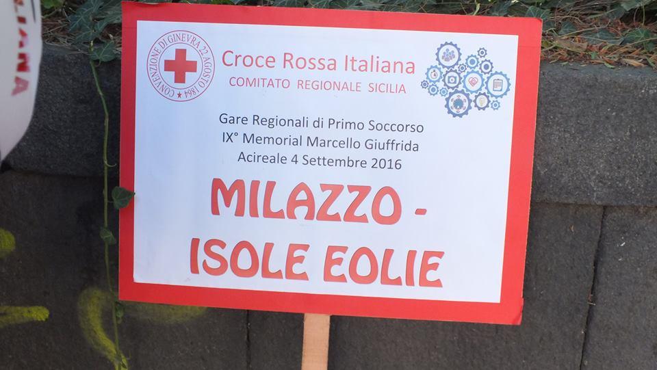 Le attività della Croce Rossa anche nelle Eolie4° e ultima parte