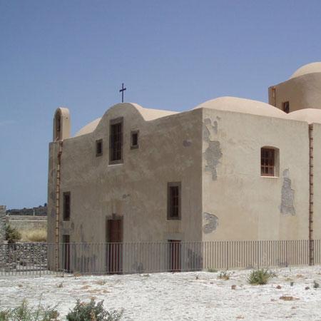 Lipari e la chiesa dell'Addolorata