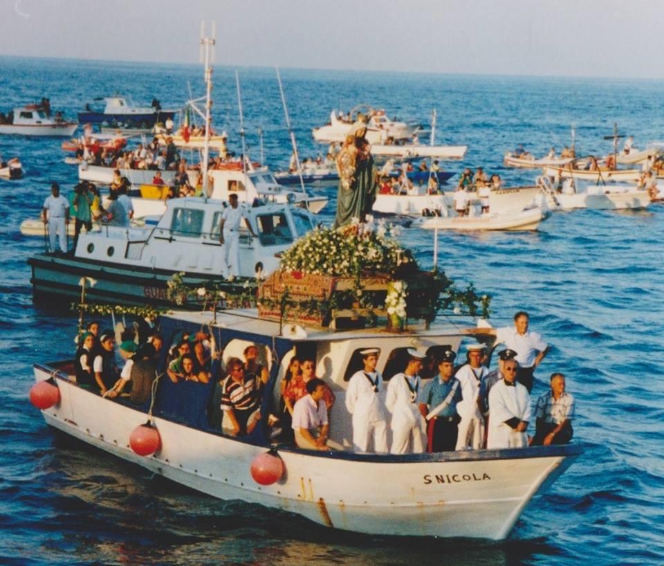Festa della Madonna di Porto Salvo, Lipari