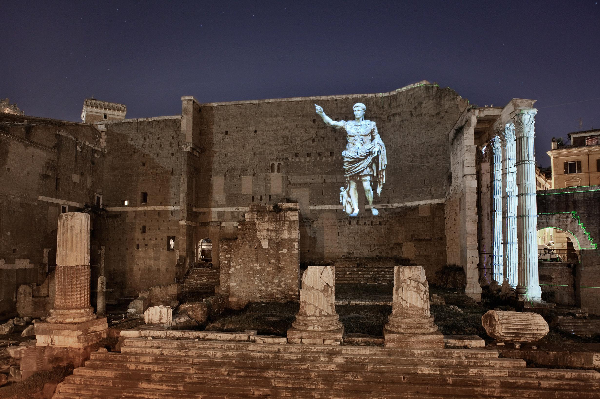 Via dei Fori Imperiali: Piero Angela conduce nell'antica Roma