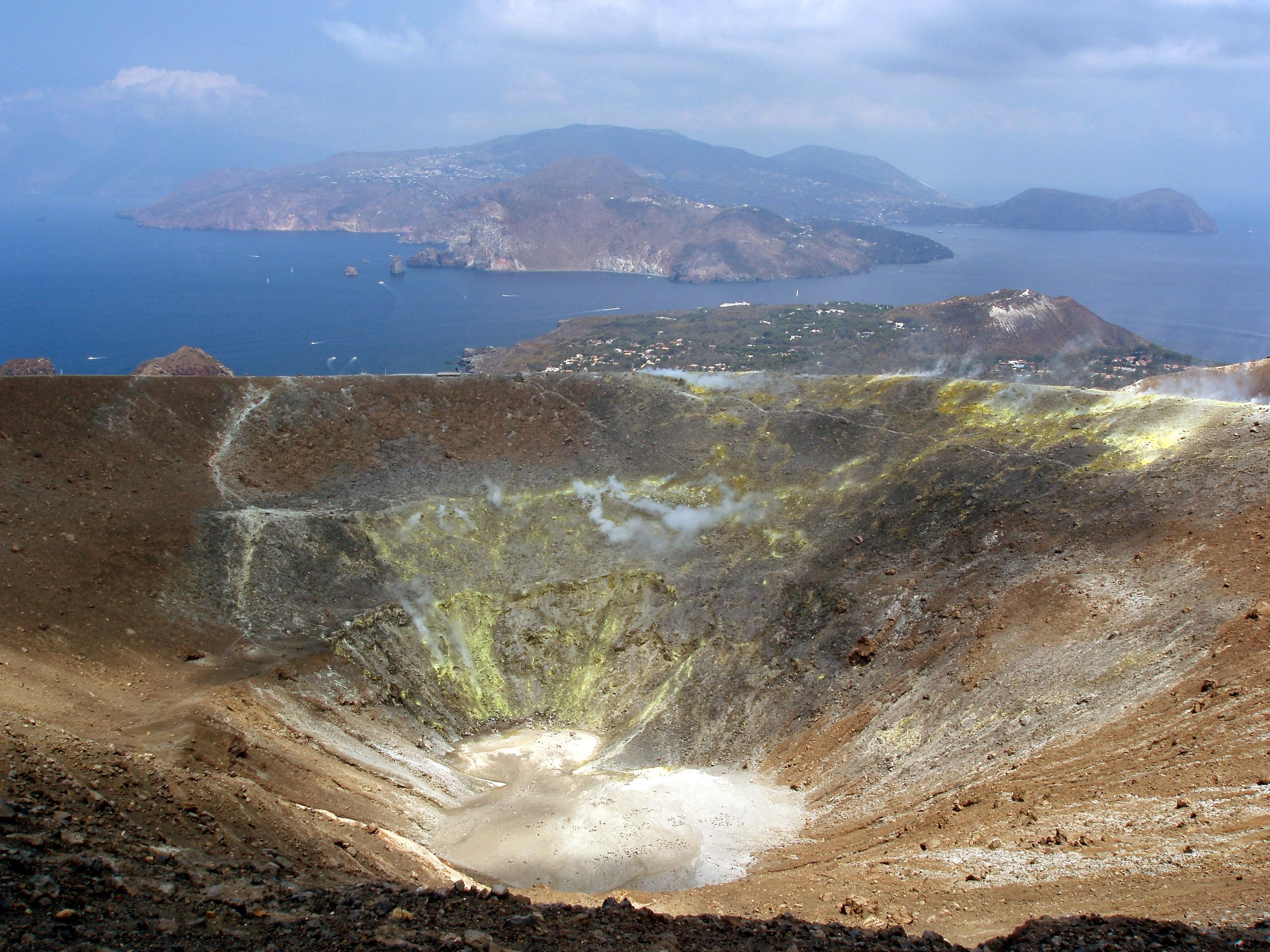 Vulcano: Fossa della Fucina