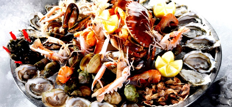 L'importanza dei frutti di mare