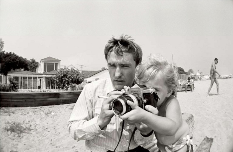 Le fotografie del leggendario Dennis Hopper a Roma