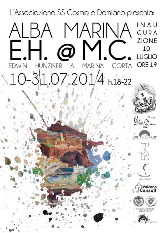 """""""ALBA MARINA - E.H.@M.C."""" - Edwin Hunziker in mostra dal 10 al 31/07"""