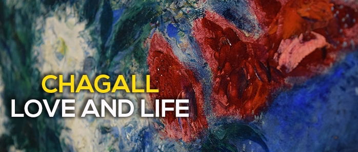 Chagall love and life, Marc Chagall in mostra al Chiostro del Bramante