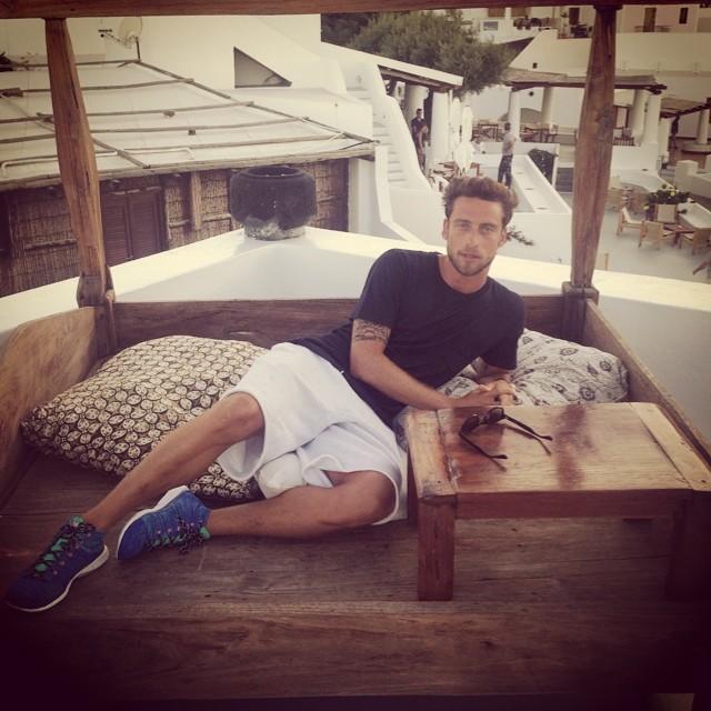 """""""Il principino"""" Marchisio in vacanza alle Eolie"""