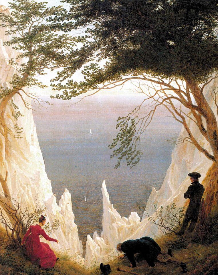 Einfühlung isolano: tra Friedrich e madre natura