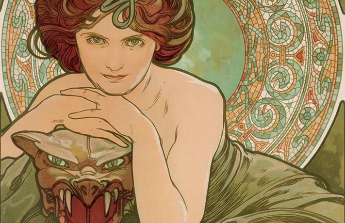 Alphonse Mucha: al Vittoriano il respiro dell'Art Noveau