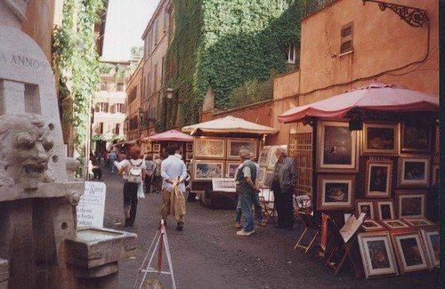 Cento pittori a Via Margutta