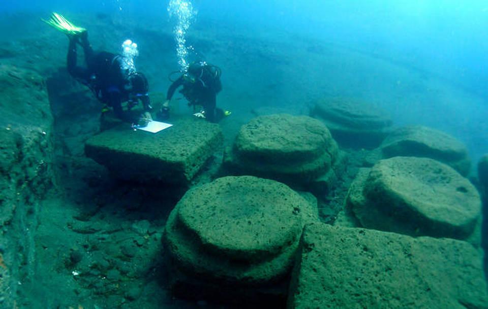 L'antico porto romano di Lipari