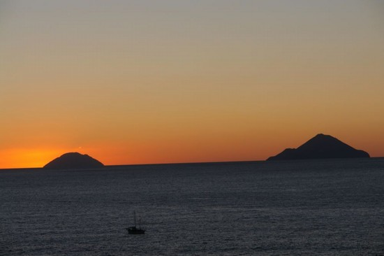Nord, Sud, Est e... tramonto!