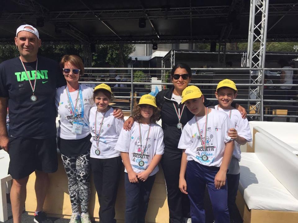 Piccolo orgoglio eoliano agli Internazionali di Tennis a Roma