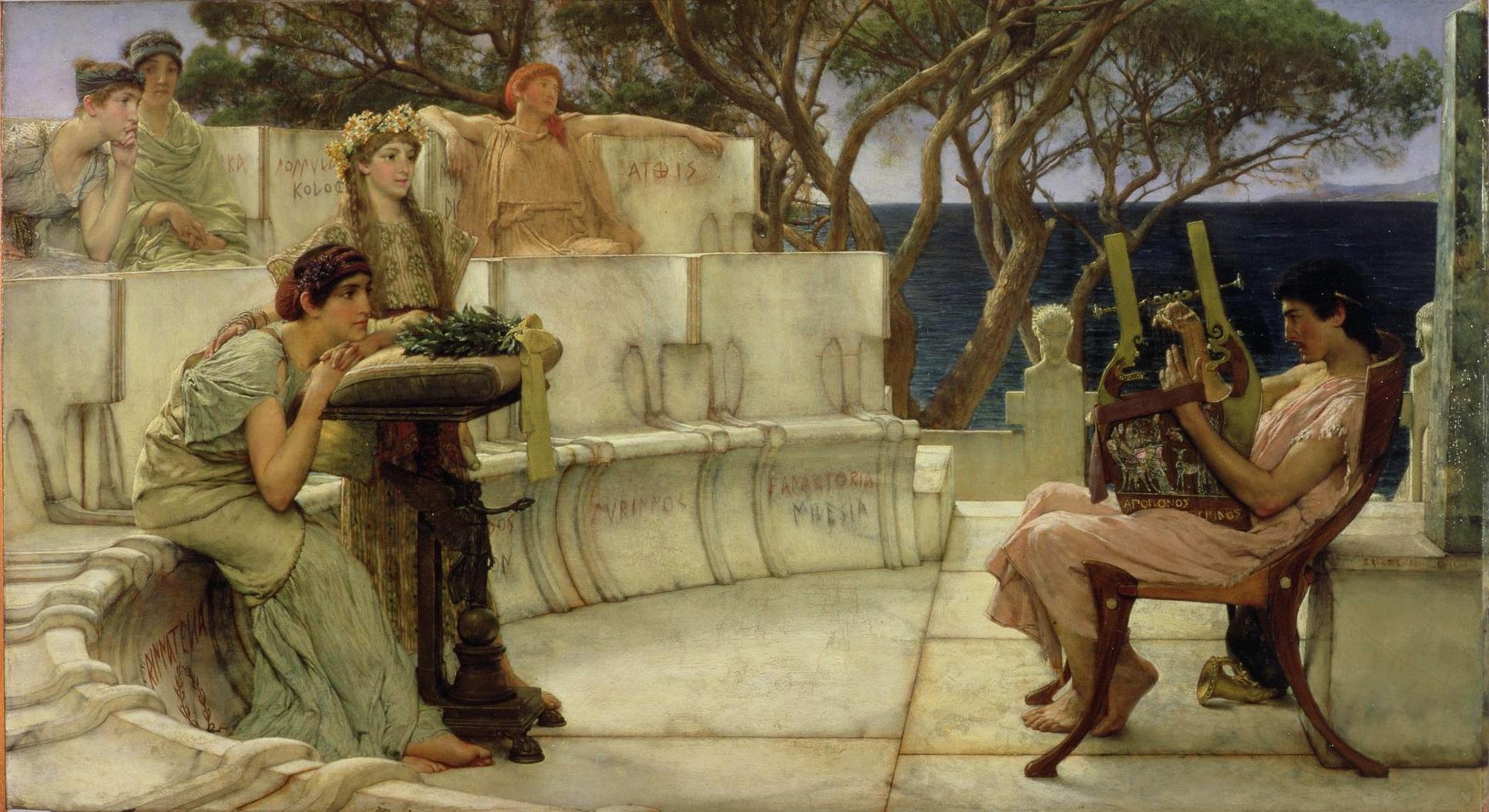 L'amore nei canti delle Isole Eolie e Saffo