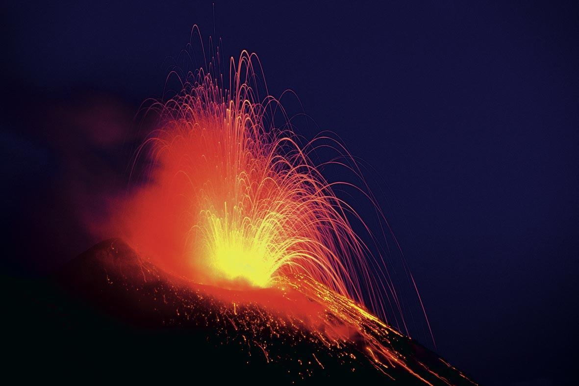 Emozioni di notte: l'ascesa ai vulcani