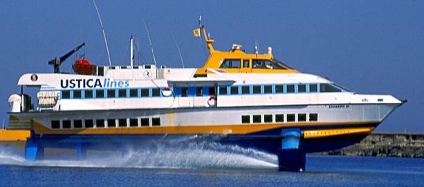 La Ustica Lines ripristina il servizio di navigazione per le isole siciliane minori