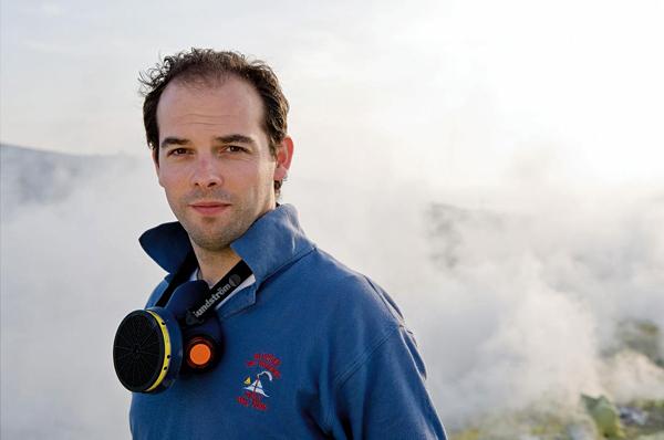 Lo Stromboli studiato dal vulcanologo McGonigle