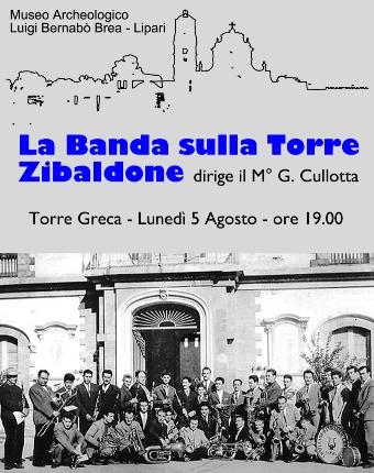 """La Banda musicale """" Città di Lipari"""" al Castello"""