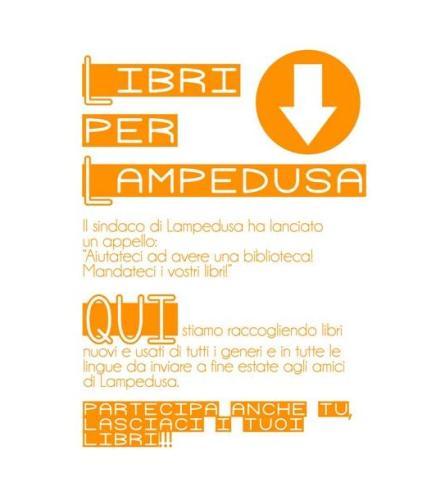 Nesos raccoglie libri per Lampedusa