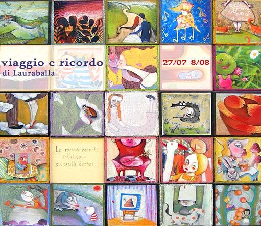 Stromboli, mostra di Laura Balla
