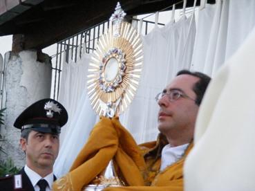 Gioiosa solennità del Corpus Domini a Salina
