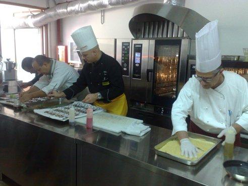 Sultano-Bernardi,alta cucina ai seminari Farc (2)