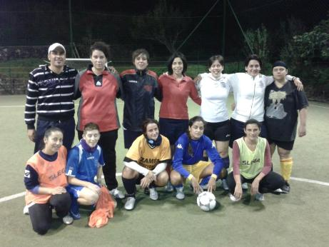 Calcio a 5, donne in campo