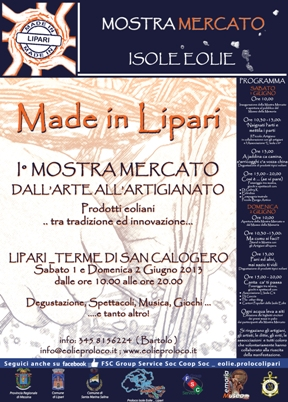 """Made in Lipari"""