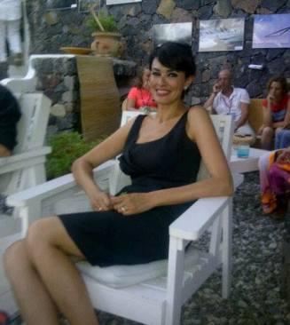 Maria Grazia Cucinotta a Santa Marina Salina