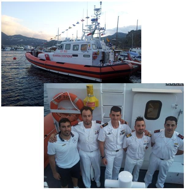 Duro lavoro nel Canale di Sicilia per la Cp 322