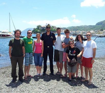Filiera del pesce, stagisti universitari a Lipari