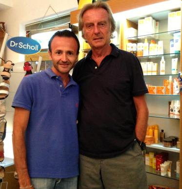 Sparacino con Luca Cordero di Montezemolo
