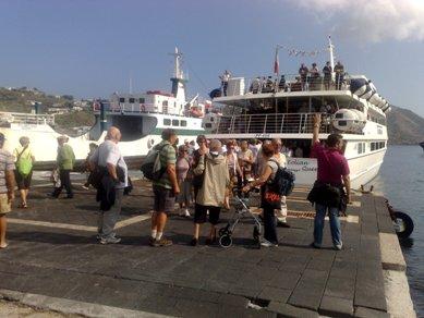 Ticket sbarco: Santa Marina e Leni contro
