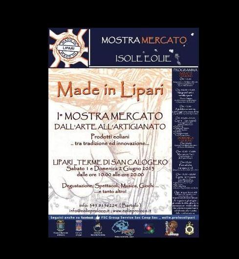 """""""Made in Lipari"""", prima mostra mercato"""