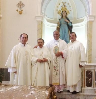 Il Nunzio Apostolico lascia Salina