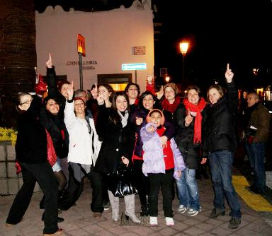 """One billion rising"" anche a Lipari"