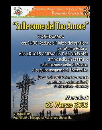 Via Crucis a Monte Rosa