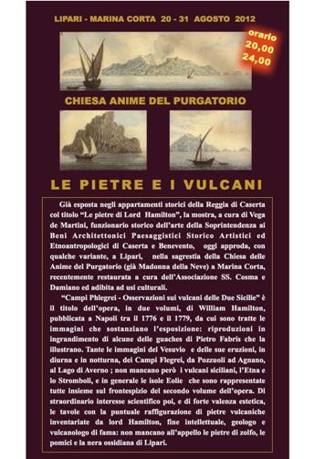 """""""Le pietre e i vulcani"""""""