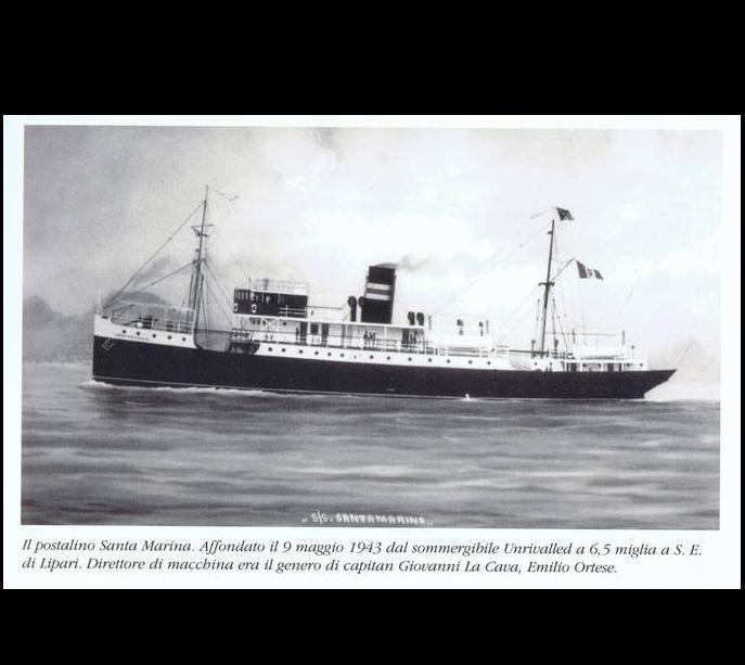 70° anniversario del Santa Marina a punta Bandiera