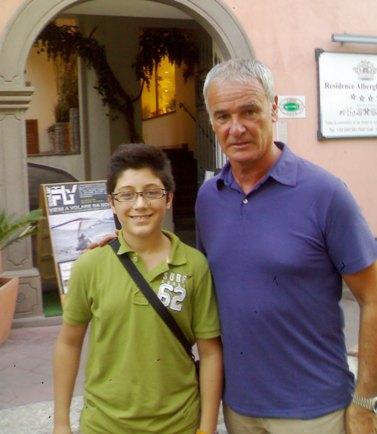 Claudio Ranieri a Lipari