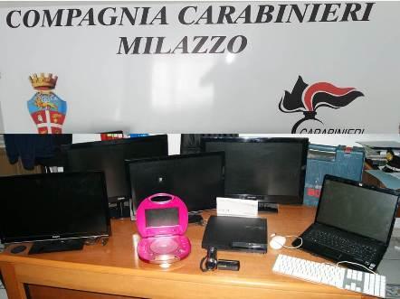 Furti a Lipari, due denunciati dai Carabinieri