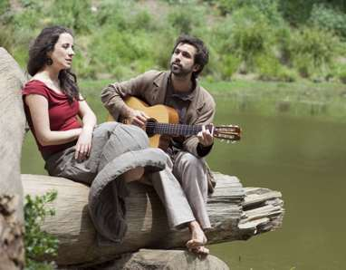 Il duo Ribeiro - Barenghi a Malfa