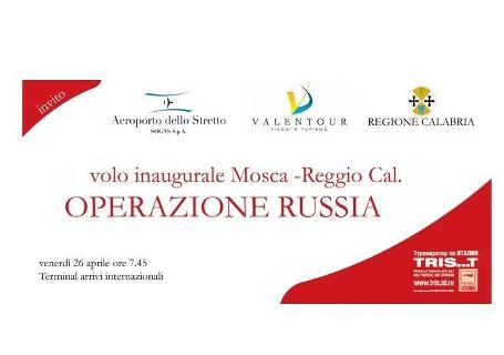 Aeroporto Reggio, arrivano i russi