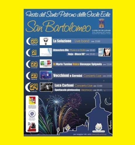 San Bartolo 2013, il programma