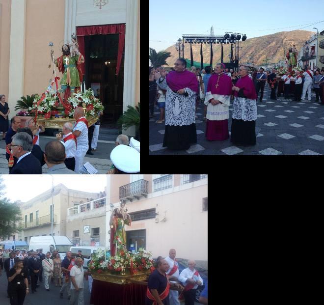 San Cristoforo, foto della processione