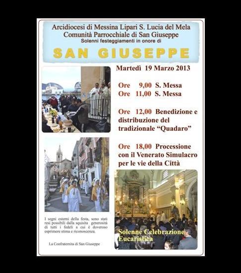 """San Giuseppe a Lipari con il """"Quadaro"""""""