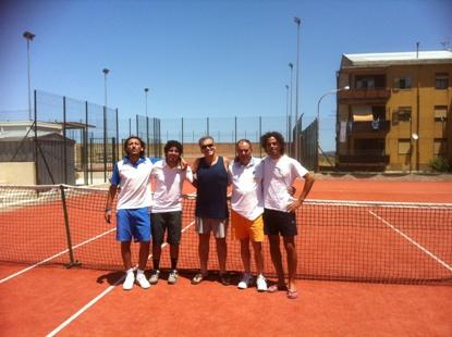 Tennis, Snoopy alla fase regionale