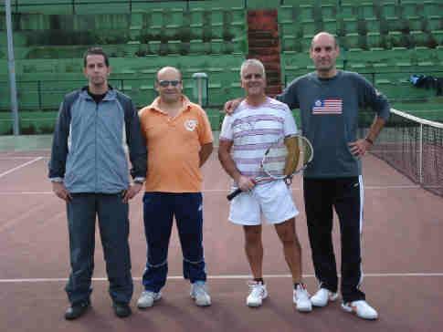 Tennis, Snoopy corsaro a Milazzo